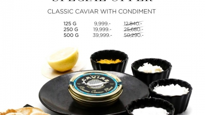 Boost your immunity with Black Caviar!